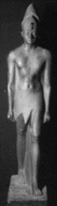 Photo of Plaster Cast of Statue: Pharaoh Thutmose III