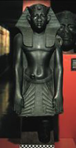 Photo of Plaster Cast of Statue: Amenemhet III
