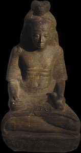 Photo of Plaster Cast of Statue: Ramses-Nakht Scribe