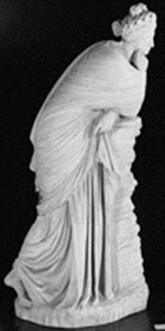 Thumbnail of Plaster Cast of Greek Statue: Polyhymnia, Polymnia, Hesiod (1948.01.0055)