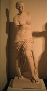 "Thumbnail of Plaster Cast Statue: Aphrodite from Melos (""Venus de Milo""): Head and Torso (1948.01.0056A)"