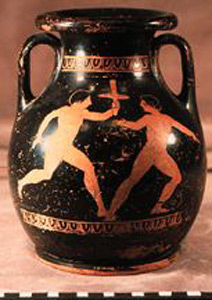 Photo of Red Figure Pelike, Container