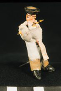 Thumbnail of Model of Funerary Procession: Flute Player (1990.04.0001A)