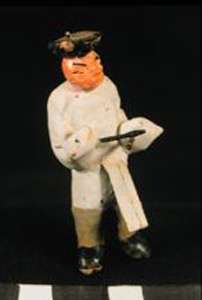Thumbnail of Model of Funerary Procession: Drummer? (1990.04.0001D)