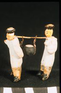 Photo of Model of Funerary Procession: Figurines