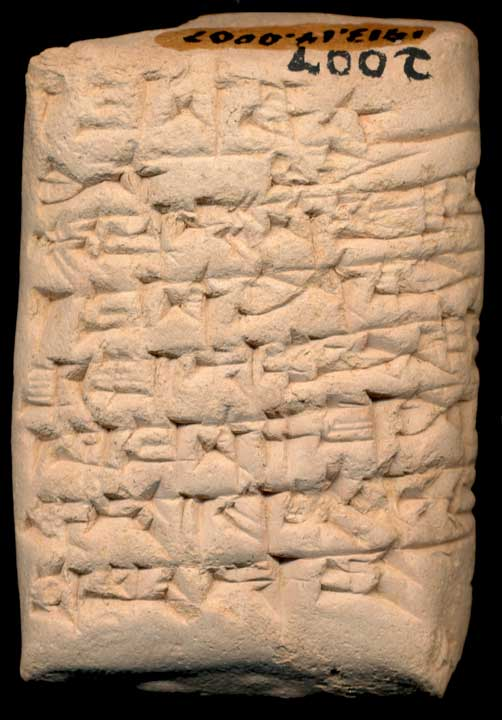 Thumbnail of Old Babylonian Cuneiform Tablet (1913.14.0007)