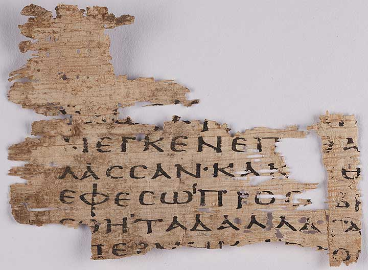 Thumbnail of Oxyrhynchus Papyrus, P.Oxy VI 867: Excerpt Describing the Capture of Ephesus (Fragment) ()