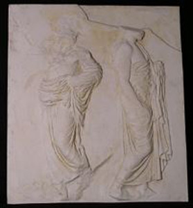 Thumbnail of Plaster Cast of East Parthenon Frieze Panel - Two Marshals (1911.03.0018)
