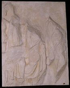 Thumbnail of Plaster Cast of East Parthenon Frieze Panel - Four Maidens Carrying Phiales (1911.03.0032)