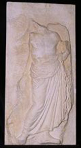 Photo of Plaster Cast of East Parthenon Frieze Panel - a Marshal