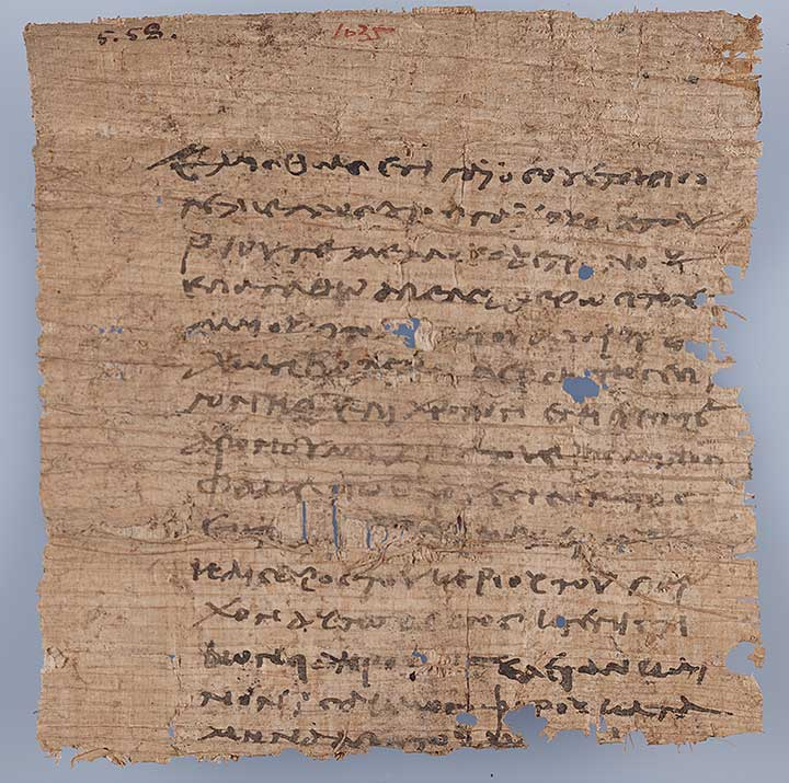 Thumbnail of Oxyrhynchus Papyrus, P.Oxy VII 1023: Loan Contract, Gaius to Epagathus (Fragment) and No. 1835 ()