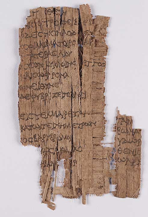 Photo of Oxyrhynchus Papyrus, P.Oxy IX 1177: Excerpt, Phoenissae, by Euripides (Fragment)