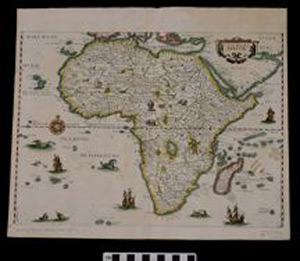 Photo of Map of Africa