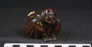 Photo of Okimono-Style Netsuke: Traveler