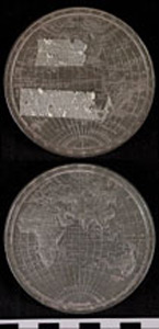Thumbnail of World Map Medal (1971.15.3246)