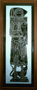 Photo of Brass Rubbing: Sir Roger de Trumpington