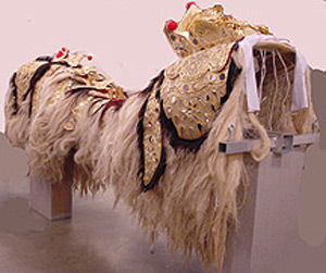 Thumbnail of Barong Dance Costume: Body (2002.17.0001A)