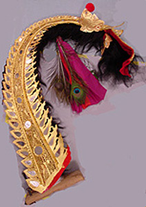 Thumbnail of Barong Dance Costume: Tail (2002.17.0001D)