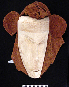 Thumbnail of Peleacon Bark Cloth Mask (2000.01.0250)