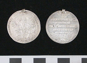 Photo of Medal: Commemorating Relief of Vienna from Siege of Turks