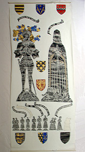 Thumbnail of Brass Rubbing: Sir William Vernon and Margaret (1982.05.0003)