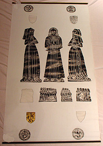 Thumbnail of Brass Rubbing: Geoffrey Dormer, Margery, and Alice (1982.05.0011)