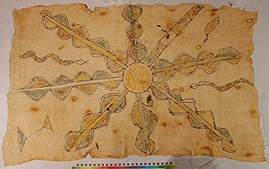 Photo of Bark Cloth Painting