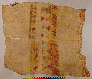 Thumbnail of Child's Peleacon Bark Cloth Costume (2000.01.0852)