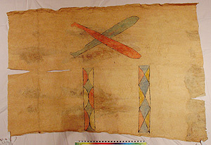 Thumbnail of Peleacon Bark Cloth Costume (2000.01.0872)