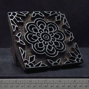 Photo of Fabric Printing Block