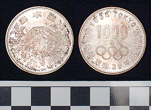 Thumbnail of Coin: Japan, 1000 Yen Olympic Edition (1977.01.0439B)