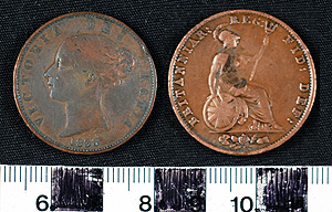 Thumbnail of Coin: Great Britain Half Penny (1900.90.0003)