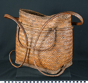 Thumbnail of Backpack with Lid (2007.15.0006A)