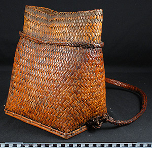 Thumbnail of Backpack with Lid (2007.15.0009A)