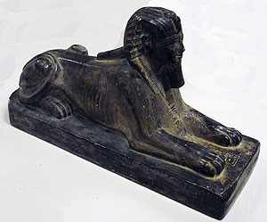 Photo of Plaster Cast of Sphinx of the Pharaoh Thutmose