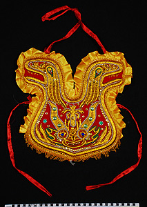 Thumbnail of Child's Devil Dance Costume, Diablada Festival Costume, Pechera, Chest Decoration (2008.04.0001G)