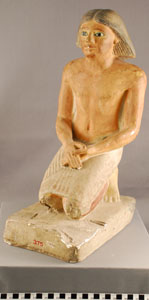 Photo of Plaster Cast of Votive Figure: The Priest Kemked