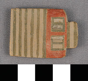 Photo of Reproduction of Minoan Miniature House Plaque