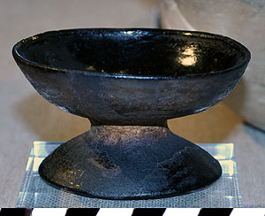 Thumbnail of Black Ware Spice Dish (1997.15.0083)