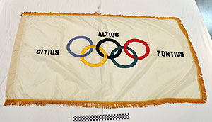 Photo of Commemorative Olympic Flag