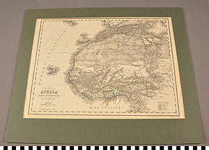 Thumbnail of Map: West Africa by Civelli (1990.13.0061)