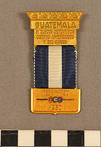 Thumbnail of Official Country Badge: Guatemala, VI Central American and Caribbean Games (1977.01.1356)
