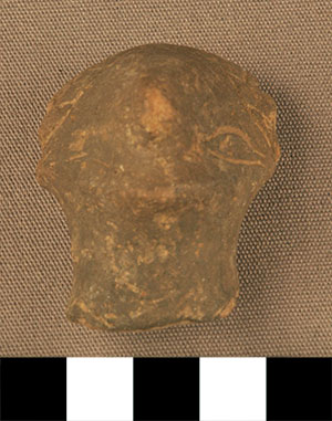 Thumbnail of Figurine Fragment: Head (2000.17.0004)