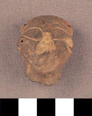Thumbnail of Figurine Fragment: Head (2000.17.0023)