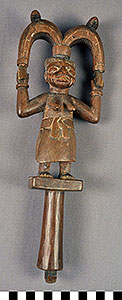 Photo of Oshe Shango Dance Wand, Staff.