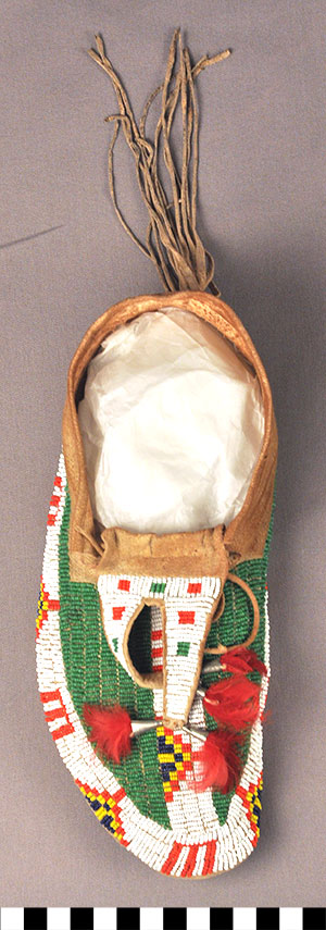 Photo of Buffalo-Track Moccasins, Pair