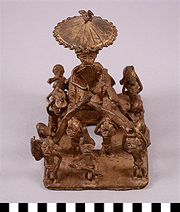 Photo of Figural Group: King and Attendants