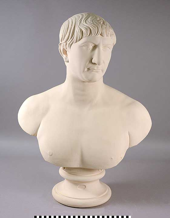 Photo of Plaster Cast: Portrait Bust of Emperor Trajan
