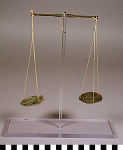 Photo of Gold Dust Balance Scale