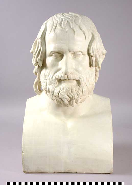 Photo of Plaster Cast: Bust of Euripedes